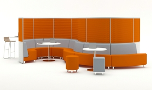 Acoustic Hub 2.0 breakout Seating