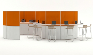 Acoustic Hub 4.2 Counter Seating