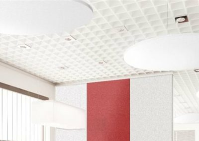 Acoustic Ceiling Rafts Office