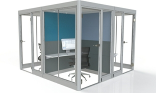 Acoustic Booths Workstation Group