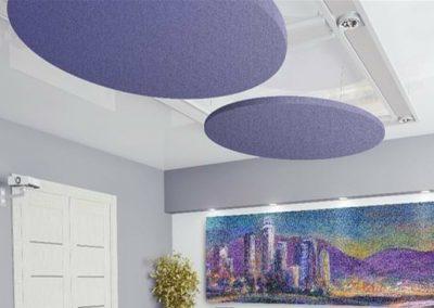Acoustic Ceiling Rafts Boardroom