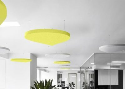 Acoustic Ceiling Rafts Open Plan Offices